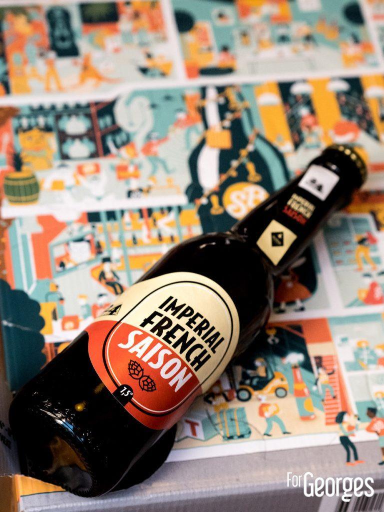 Imperial French Saison biere jour 1
