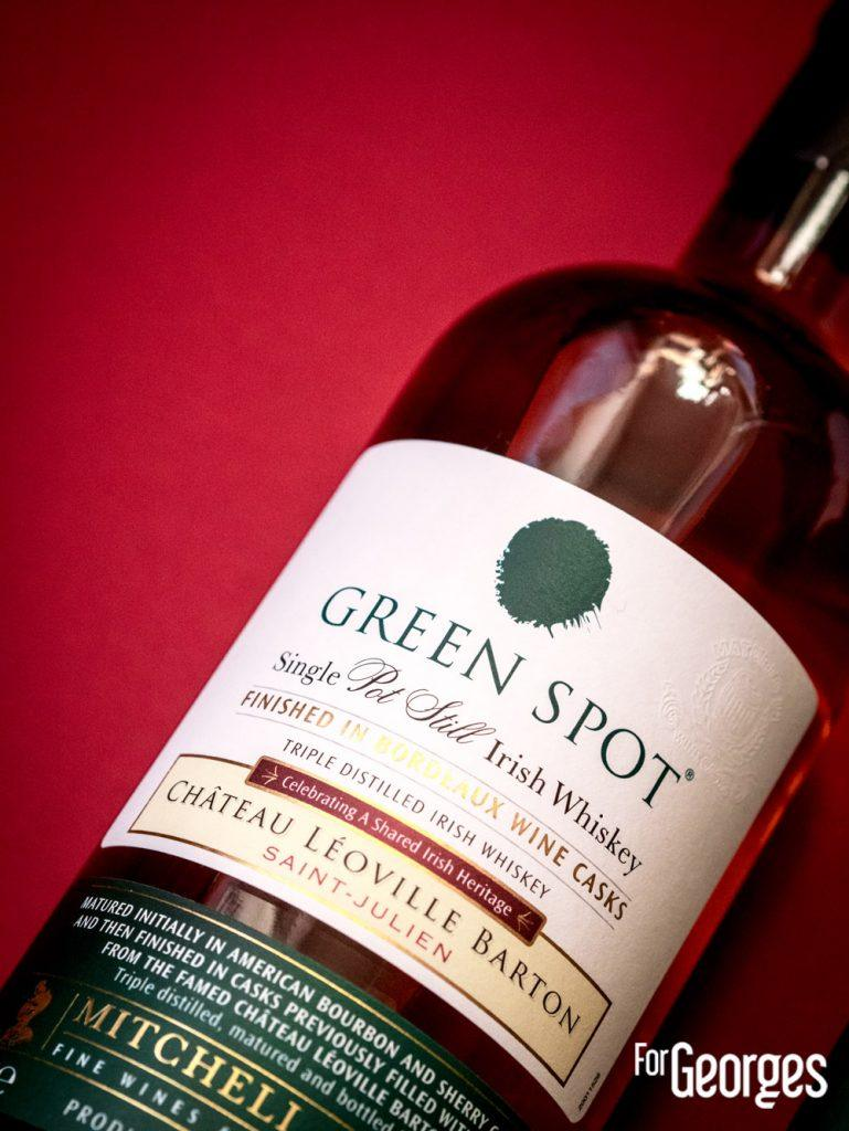 Green Spot : Leoville Barton focus étiquette