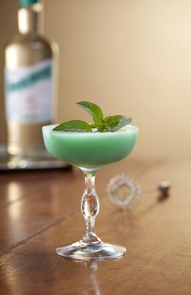 Grasshooper cocktail à la Menthe-Pastille