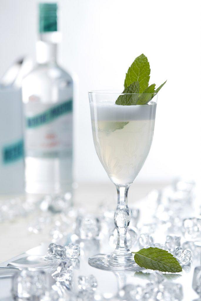Emile's Fizz Cocktail à la Menthe-Pastille