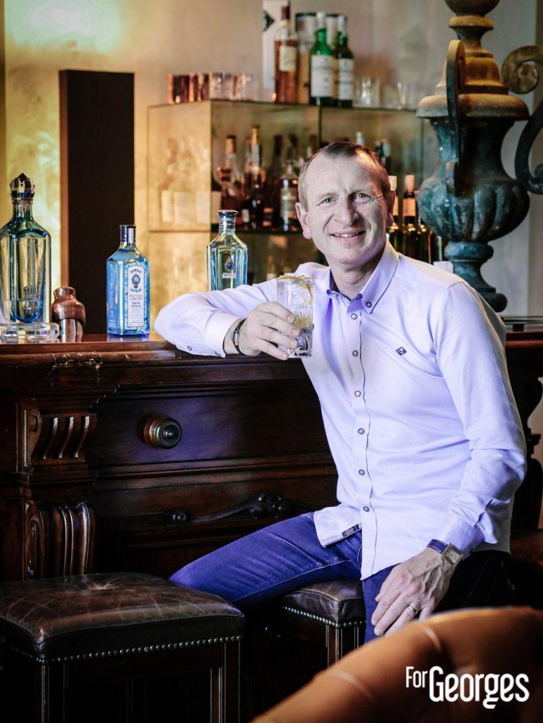 Marc Jean chef Barman du Normandy au Comptoir