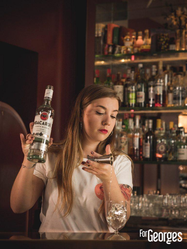Préparation du cocktail Sensilla par Pauline Le Dily