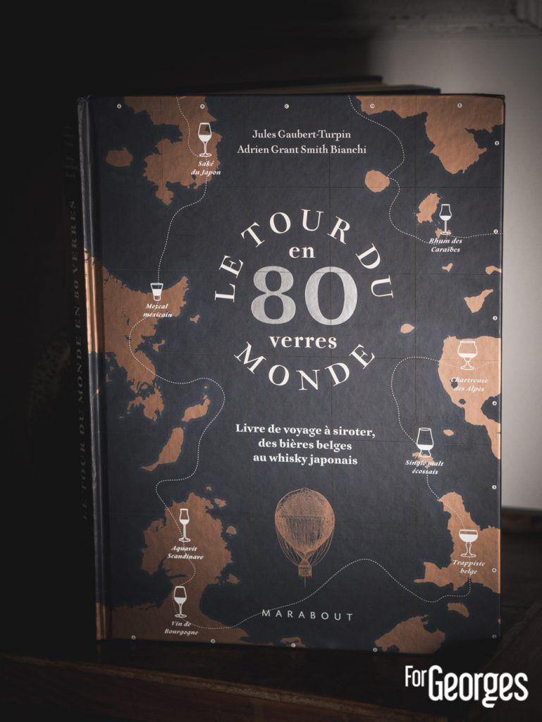 Livre Le Tour du Monde en 80 verres