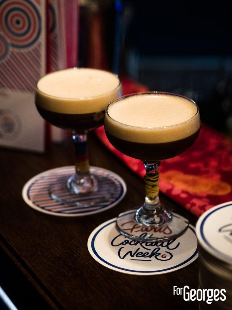 Expresso Martini sans alcool Paris cocktail Week 2020