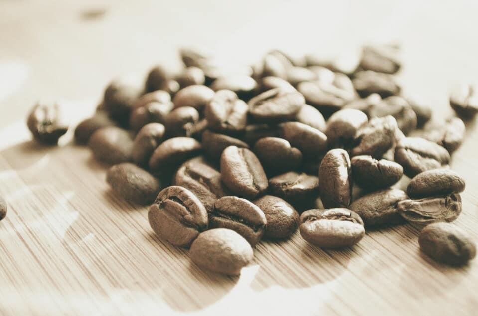Grains de café pour masquer haleine