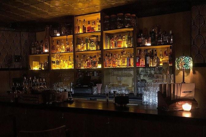 Le Moonshiner bar à cocktails Paris