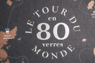 Le Tour du Monde en 80 verres livre