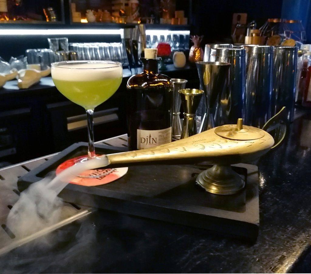 Djin en cocktails