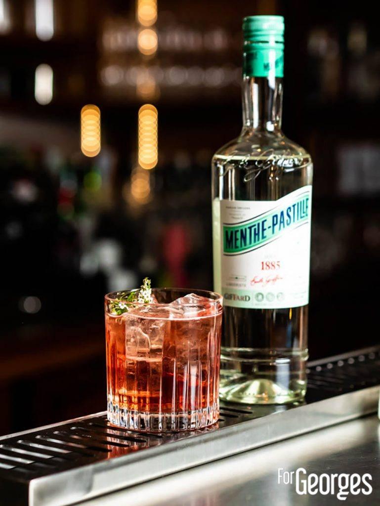 Menthe Pastille cocktail