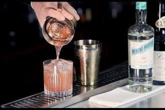 Inspiration Menthe-Pastille cocktail