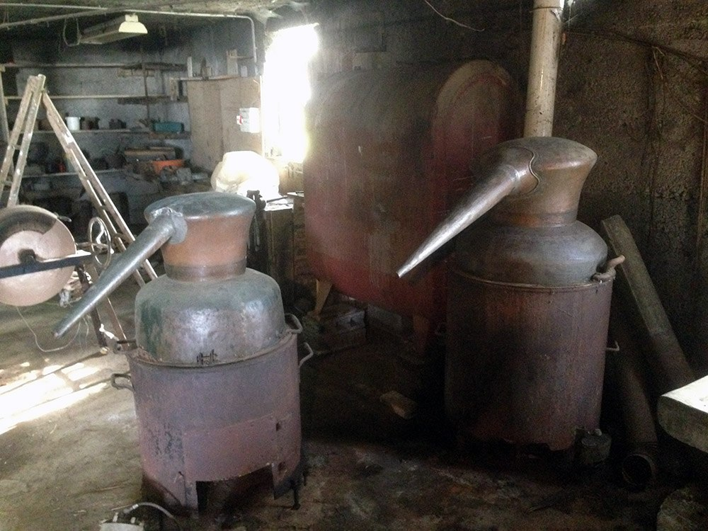 Guillaume Ferroni Distillation