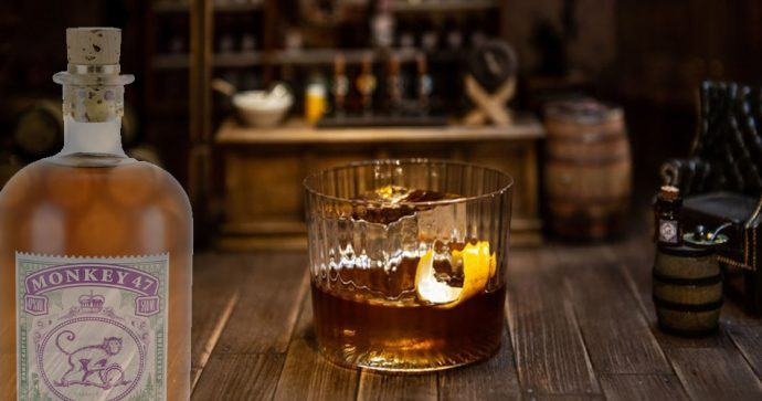 cocktail à base de Monkey 47
