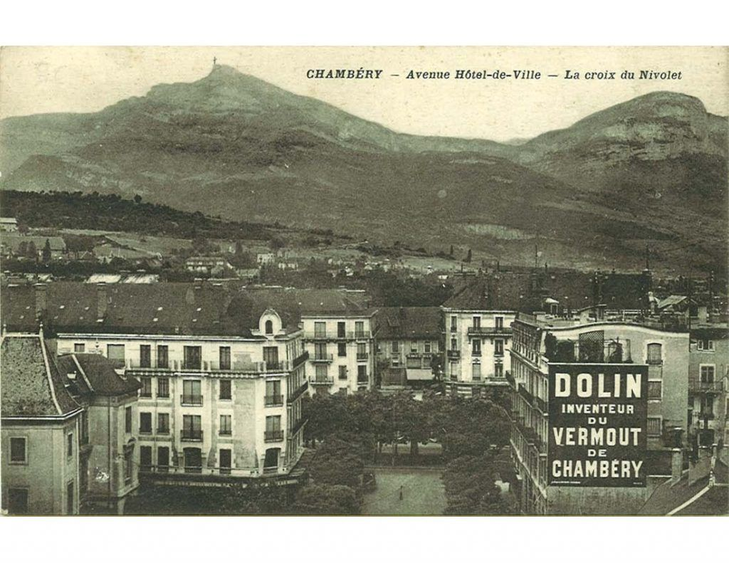 Carte ancienne Chembery Dolin