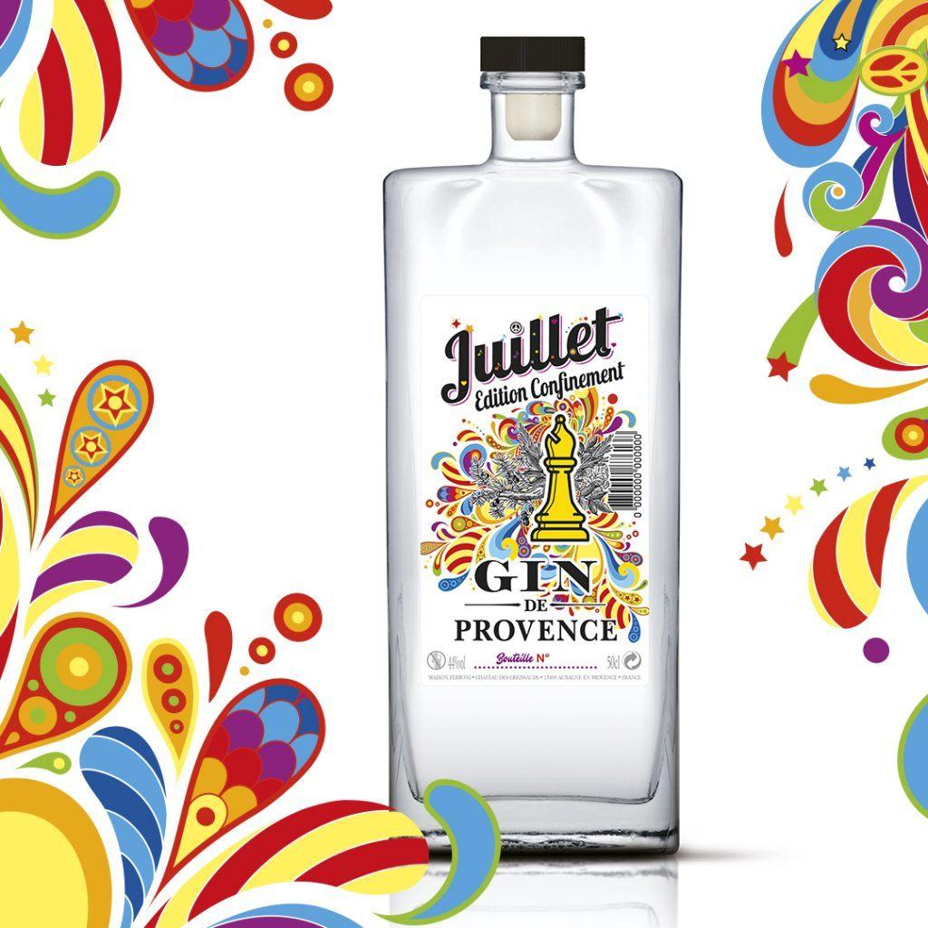 Gin Juillet Edition Confinement