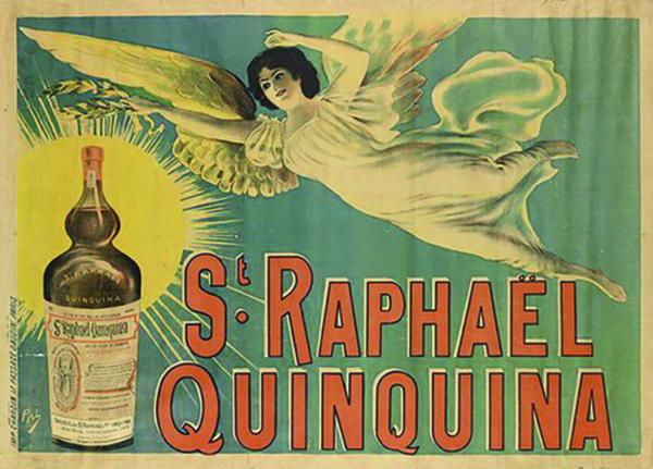 St Raphaël pub vintage