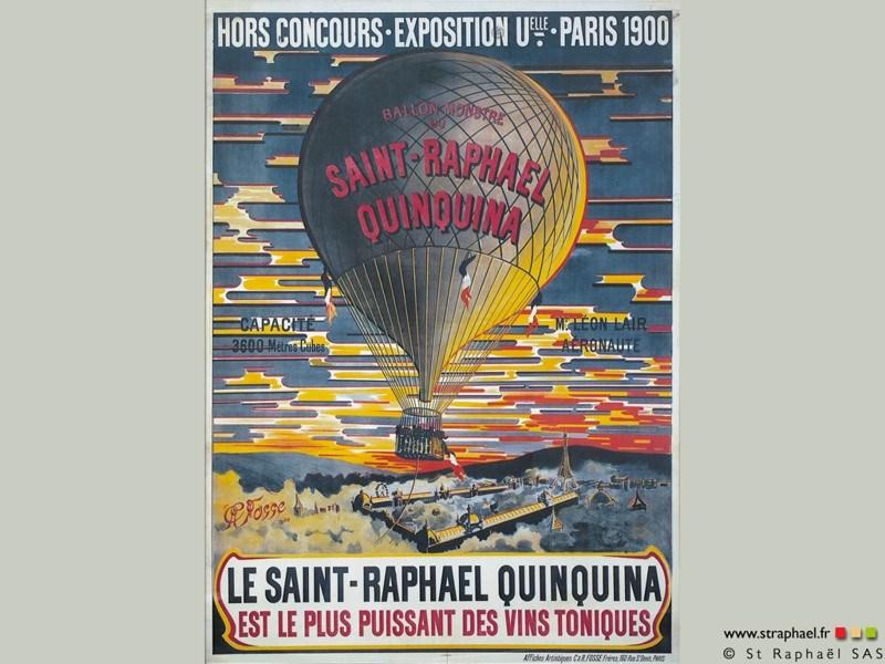 St Raphaël Exposition Universel paris 1900