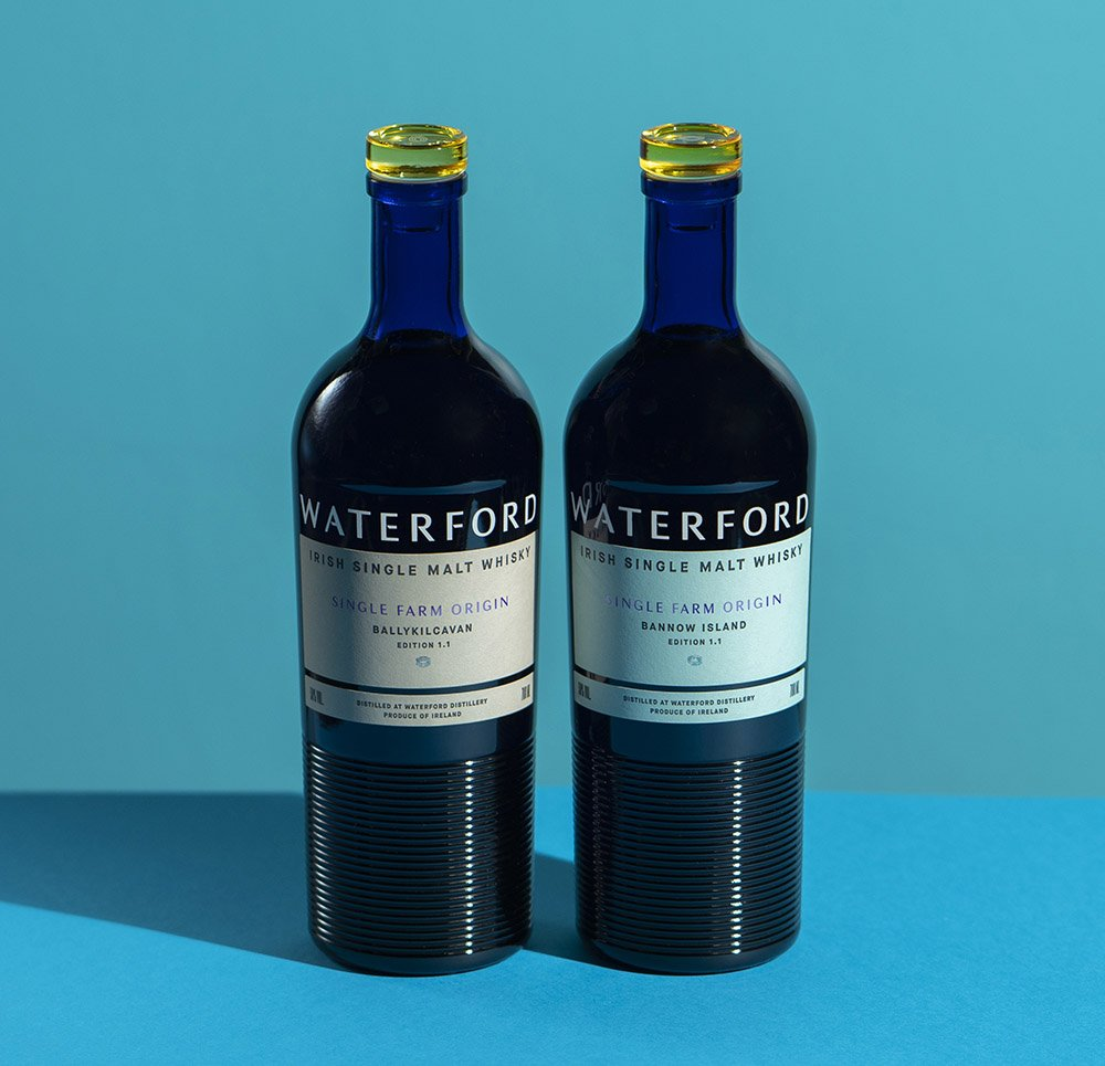 Deux bouteilles waterford