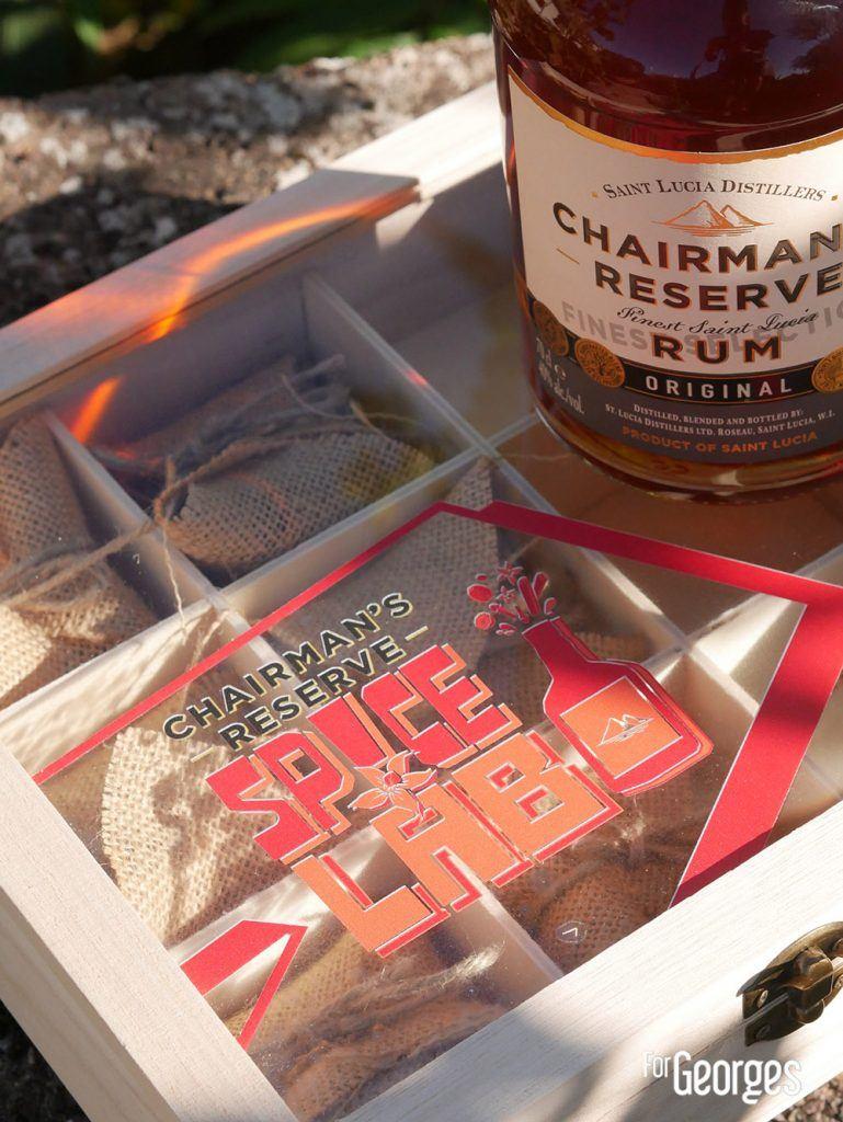 Boite à épices - Chaiman's Reserve Spice Lab