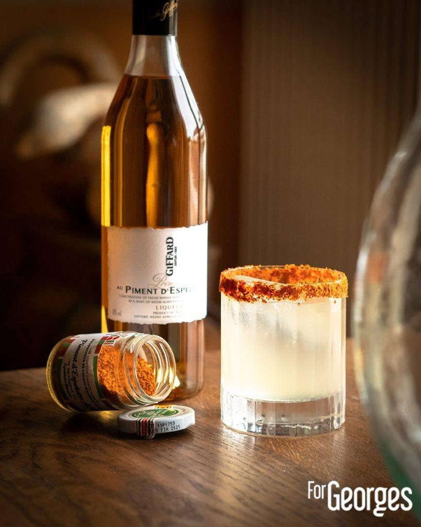 Cocktail Giffard au Piment d'Espelette
