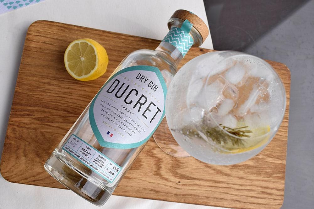 Dry Gin des Frères Ducret