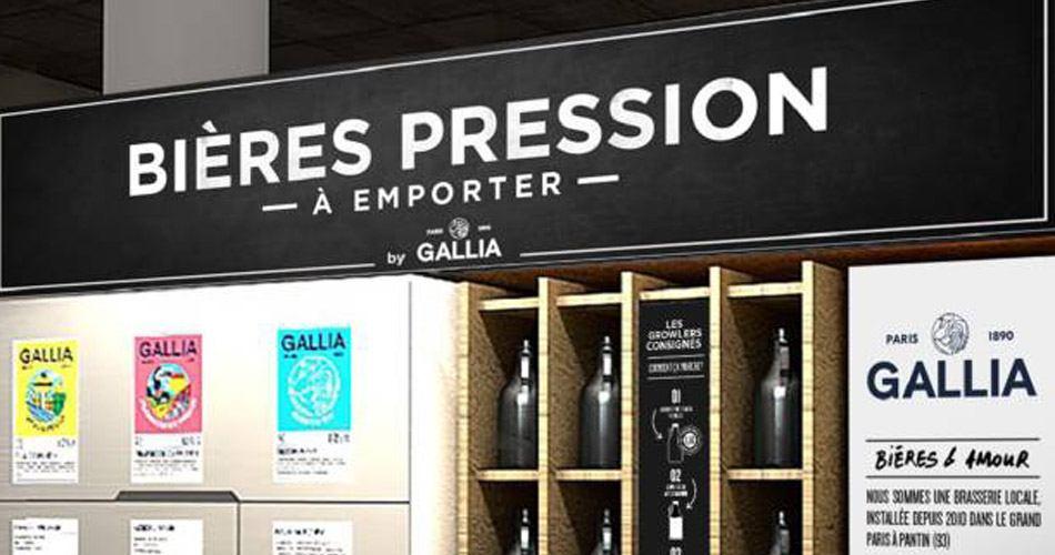 Bière pression a emporter