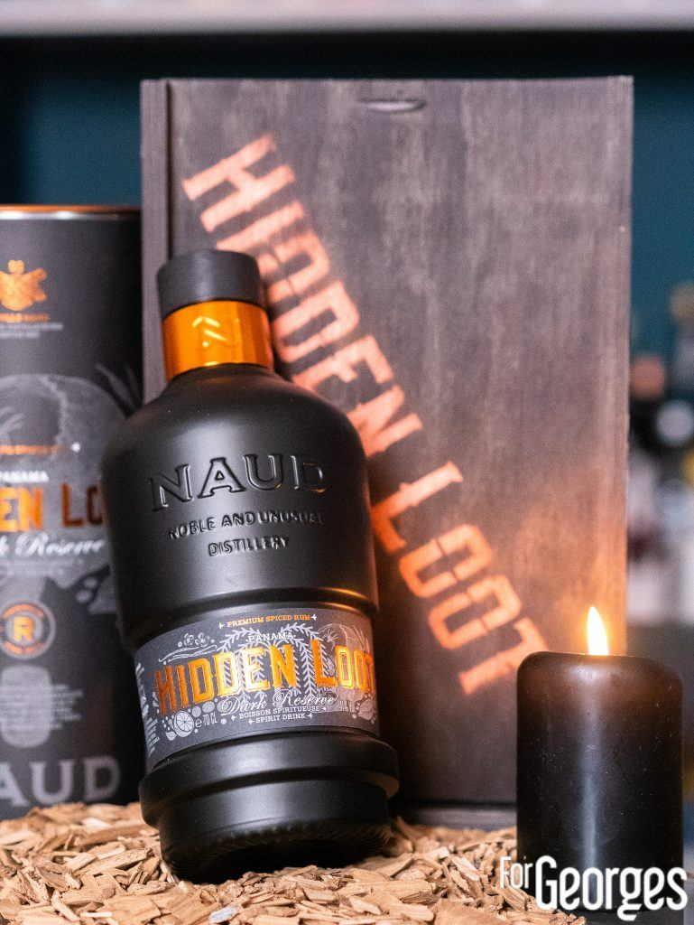 Hidden Loot Spiced rhum