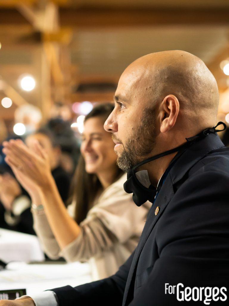 David Palanque au Chartreuse Toquicimes Contest 2020 à Megève