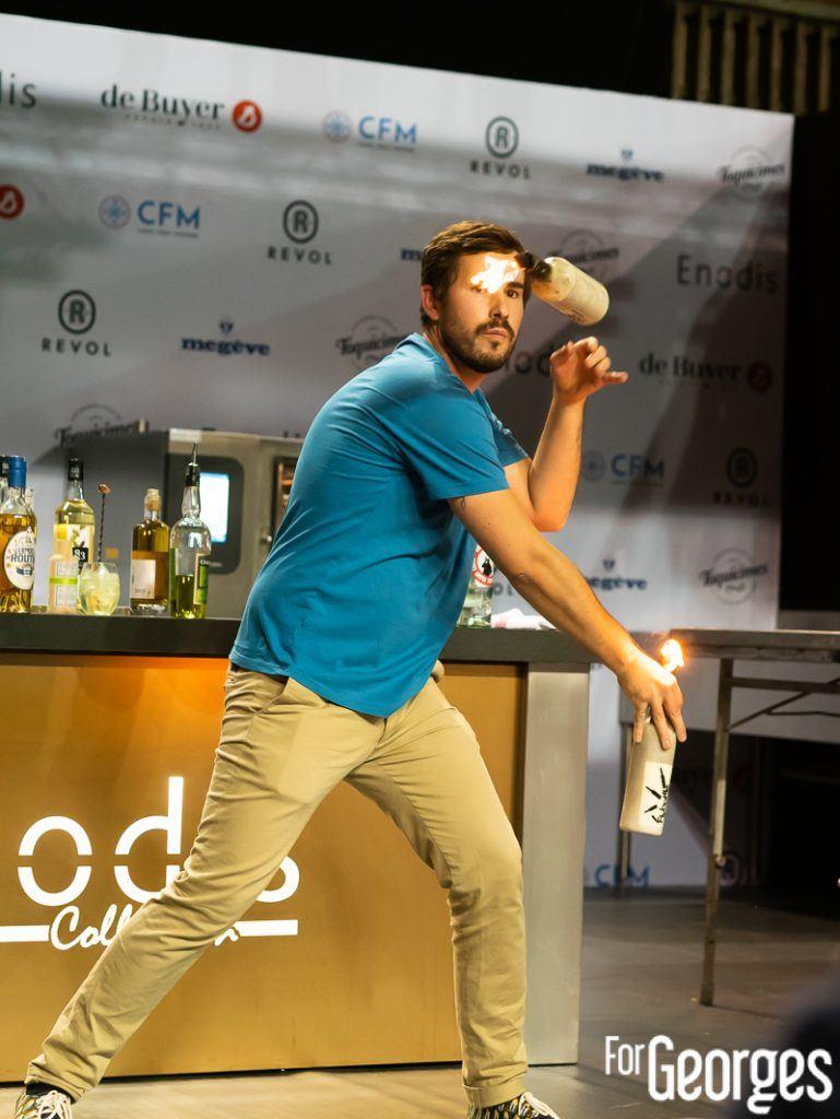 Flair bartending pendant le concours