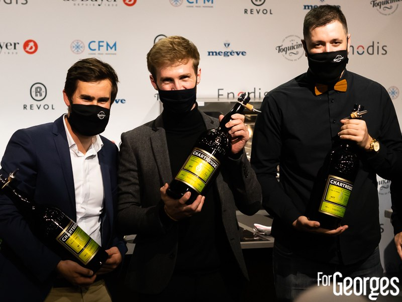 Podium du Chartreuse Toquicimes Contest 2020 à Megève