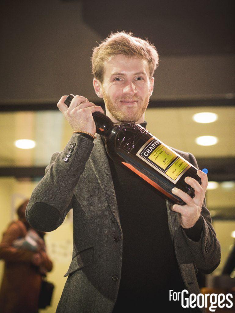 Colin Lach de Monsieur Moutarde, vainqueur Chartreuse Toquicimes Contest 2020 à Megève