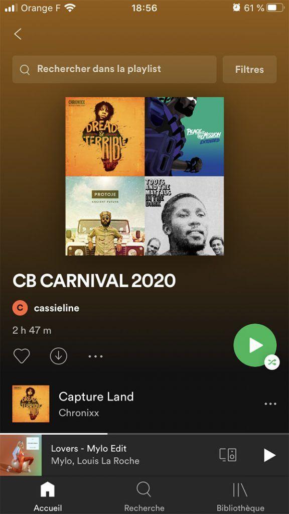 Playlist spotify Blackwell