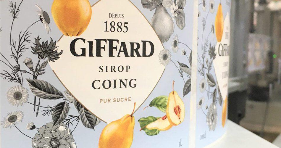 Sirop de coing Giffard