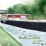 Maison Ferrand squatte la Seine avec un projet barge : un chai flottant !
