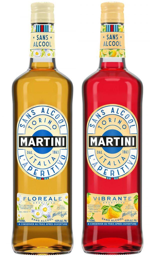 Martini Sans alcool, 2 références
