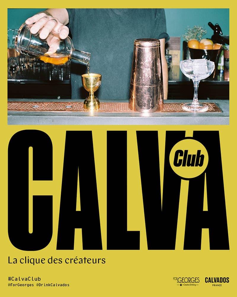 #calvaclub concours de bartenders 2021