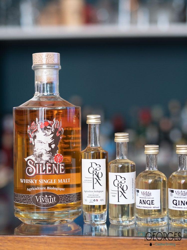 La gamme Alcools Vivants : spiritueux Bio