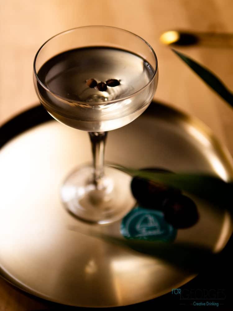 Espresso Martini du menu Perception du CopperBay
