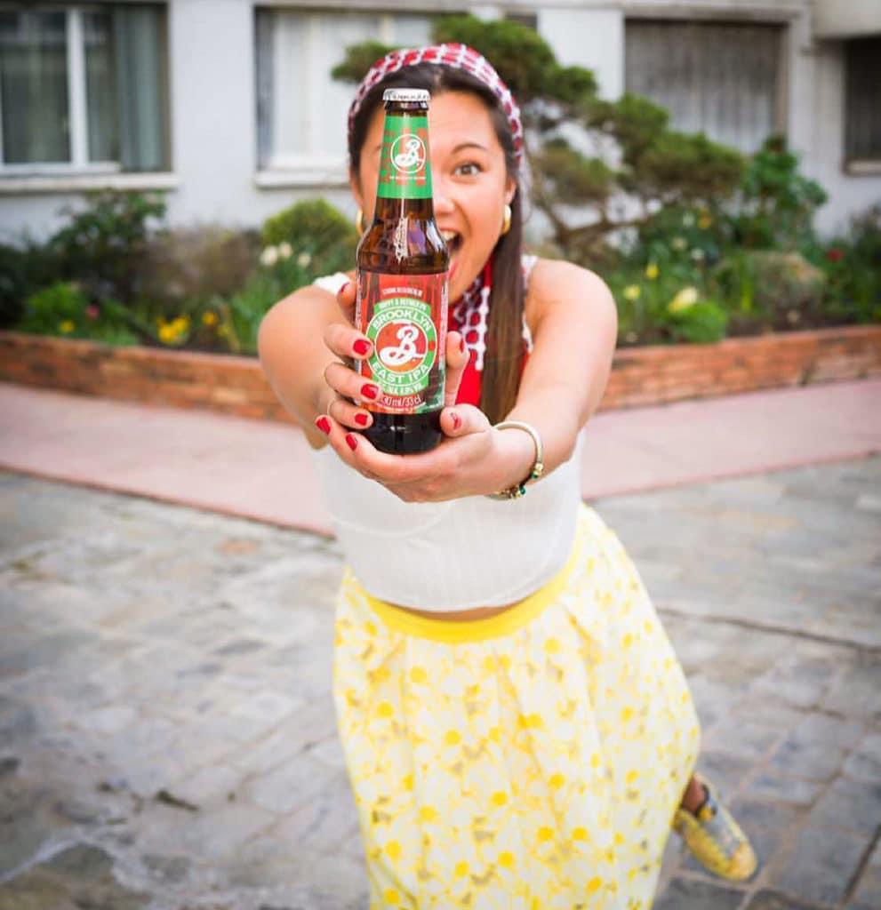 Agathe Tranduc, brand ambassadrice Brooklyn Brewery en France