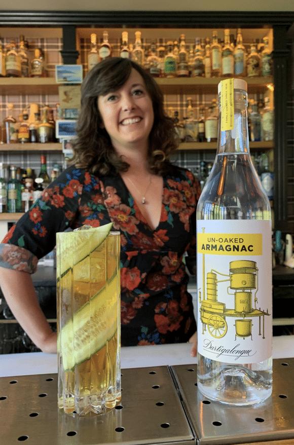 Cocktail blanche d'armagnac