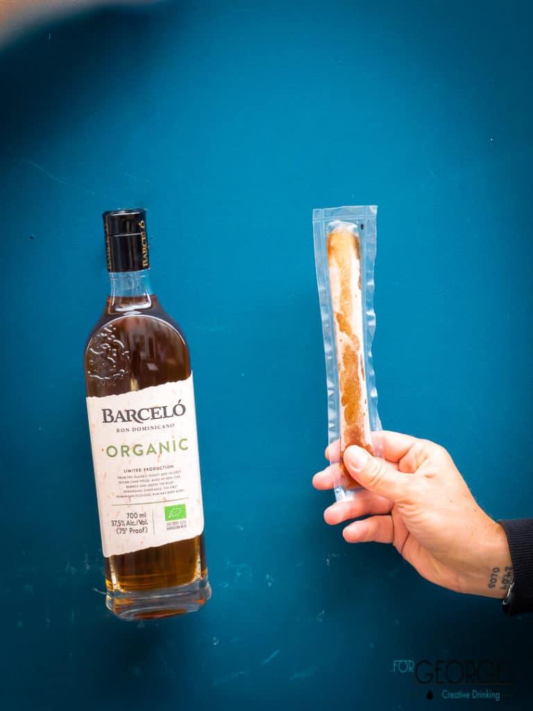 Barceló organic et freeze cocktail