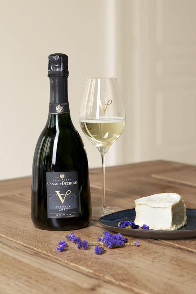 Coffretmillésime V2012 de Canard Duchêne et fromages Androuët